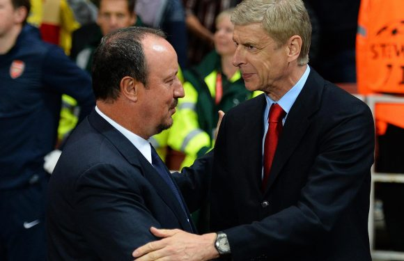 Arsenal should replace Arsene Wenger with Newcastle boss Rafa Benitez, insists Danny Murphy