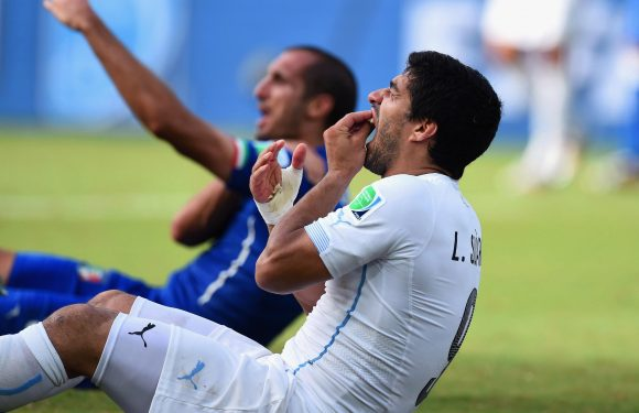 Giorgio Chiellini says Luis Suarez's ban for biting him at World Cup was 'excessive'
