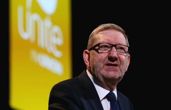Len McCluskey humiliated as Unite union pays its female staff a third less than men