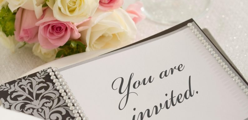 Bride's invite instructs guests to have hay fever pills on her big day to prevent 'sneezing during the ceremony'… and people are not impressed