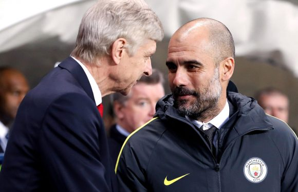 Pep Guardiola hails Arsene Wenger for his 'respect' and 'vision' for the game