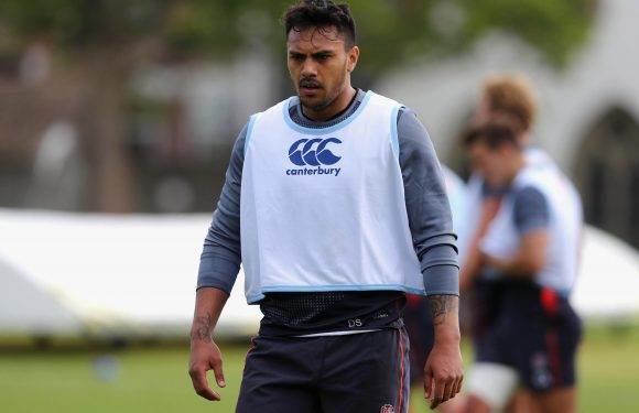Denny Solomona's England future in tatters as Sale winger found guilty of 'homophobic abuse'