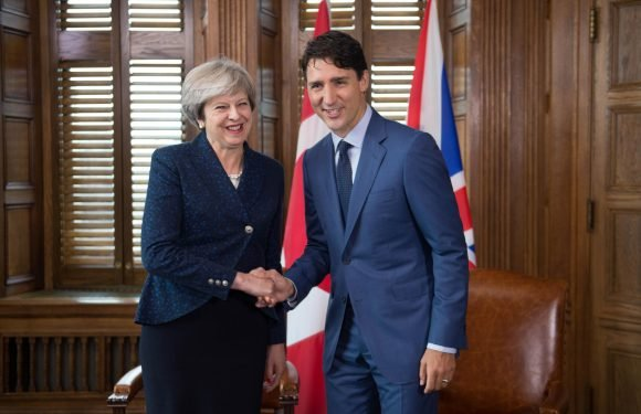 Canada's PM Justin Trudeau pledges super-charged trade deal with Britains the day after Brexit