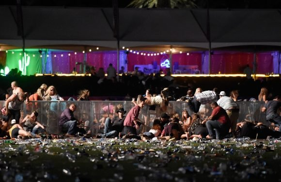 What happened in the Las Vegas shooting, where's the Mandalay Bay Hotel on the strip and what's the Route 91 Harvest music festival?