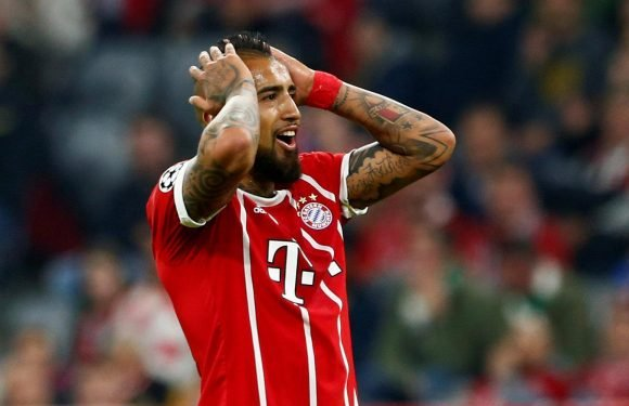 Bayern Munich star Arturo Vidal undergoes knee surgery and out for rest of the season