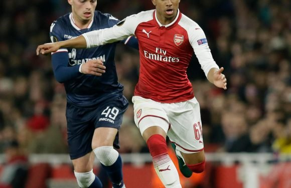 Reiss Nelson makes first Premier League start for Arsenal in home clash against Southampton