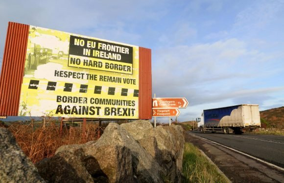 EU 'slams brakes on Brexit trade deal' after throwing out Theresa May's Northern Ireland plans