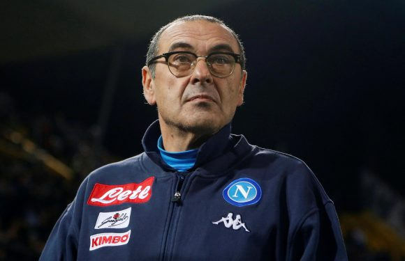Chelsea target Maurizio Sarri puts Napoli contract talks on hold after disagreement with owner over transfers
