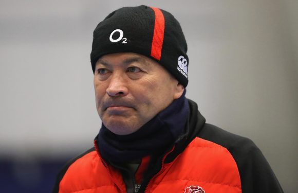 Four Scotland fans hauled to court after England rugby coach Eddie Jones was called a 'balding c**t' in train spat