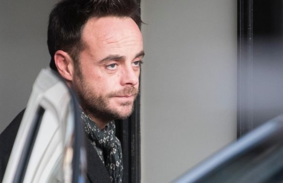 Ant McPartlin was 'more than twice the drink-drive limit' when he was arrested over car smash