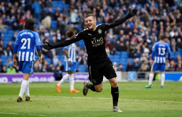 Leicester to offer Jamie Vardy £140,000-a-week contract to keep him away from rivals