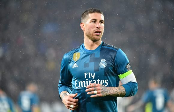 Real Madrid defender Sergio Ramos banned for Champions League quarter-final second leg against Juventus