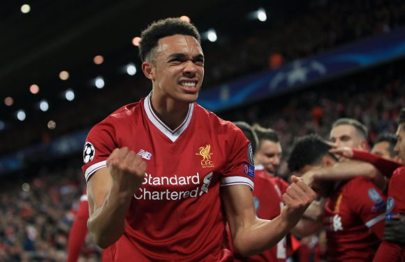 Liverpool wonderkid Trent Alexander-Arnold set to be handed new contract after exceptional run of form