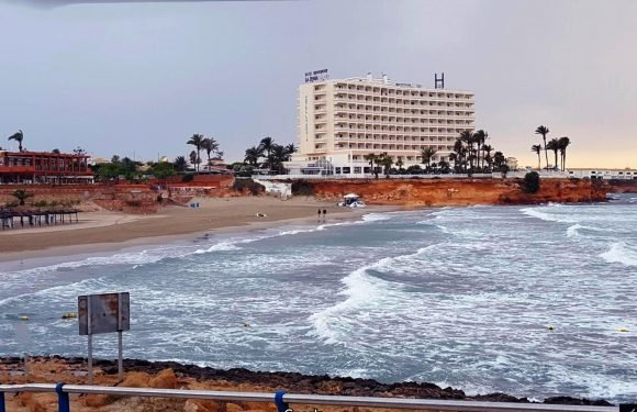 British boy, 9, dies of cardiac arrest while playing football on Spanish beach after colliding with another kid
