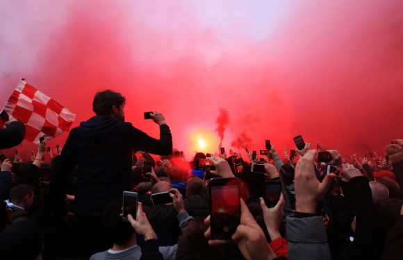 Liverpool request to have cops on bridges en route to Manchester turned down as club fear fan revenge for Anfield attack