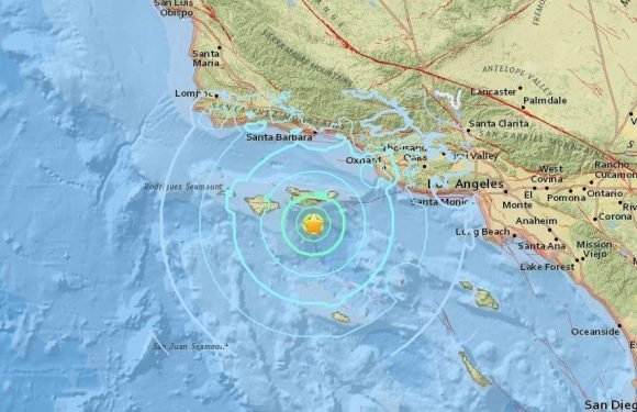 Strong magnitude-5 earthquake rocks Los Angeles sparking California 'Big One' fears