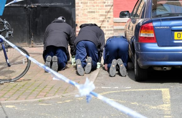 Cops comb crime scene for clues after man shot in the face in Vauxhall in latest violence in the capital