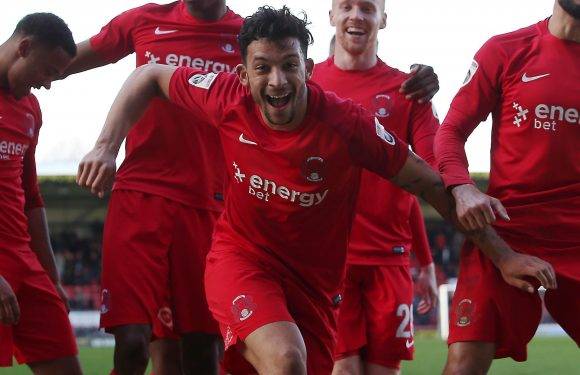 Leyton Orient star Macauley Bonne attracts attention of Football League trio Shrewsbury, Portsmouth and Bury