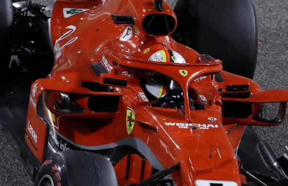 Bahrain Grand Prix: Sebastian Vettel wins second consecutive race as Lewis hamilton finishes in third
