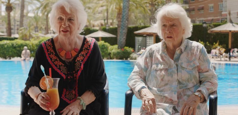 Benidorm spoilers: Noreen's twin sister Doreen turns up and causes chaos when holidaymakers can't tell them apart