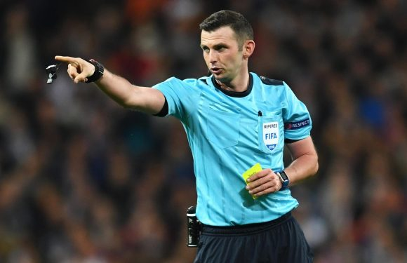 Uefa 'strongly condemns' Michael Oliver abuse in wake of Juventus' Champions League exit to Real Madrid