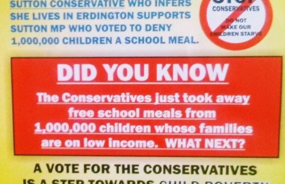 Labour councillor forced to retract claim that the Conservatives are 'starving our children'