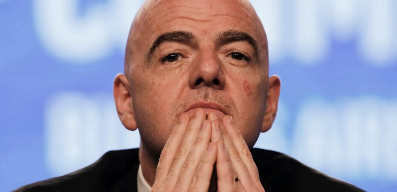 Europe's big guns refusing to accept Fifa chief Gianni Infantino's World Cup expansion plan for Qatar 2022