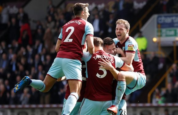 Burnley 2 Leicester 1: Kevin Long nets first ever Premier League goal as Clarets make it five Premier League wins in a row