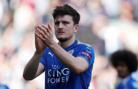 Manchester United eyeing up summer swoop for Leicester's £35m-rated defender Harry Maguire
