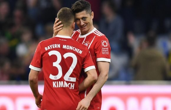 Bayern Munich set record for passing accuracy after sealing their sixth successive Bundesliga title