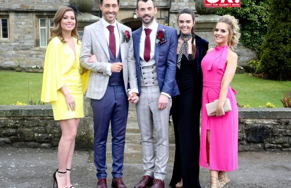 Hollyoaks' Ross Adams reveals all about emotional wedding day to husband Phil as they open up about plans to start a family