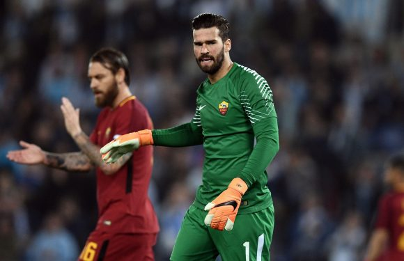 Liverpool have 'zero' chance of signing Roma ace Alisson this summer, insists club president James Pallotta