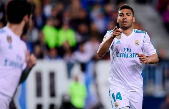 Real Madrid ace Casemiro wanted by PSG as they look to boost Champions League chances