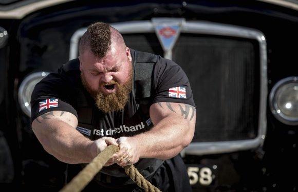 World's Strongest Man Eddie 'The Beast' Hall set to retire after record attempt to become British champion for a sixth time