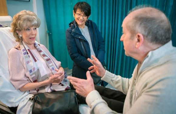 Coronation Street spoilers: Audrey Roberts devastated as love interest Geoff Metcalfe asks Yaseem Nazir out on a date instead