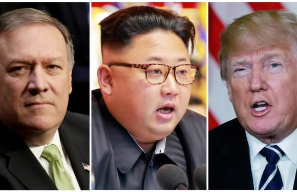 CIA director Mike Pompeo 'met Kim Jong-un in secret' as Donald Trump confirms direct talks with North Korea at 'extremely high levels'