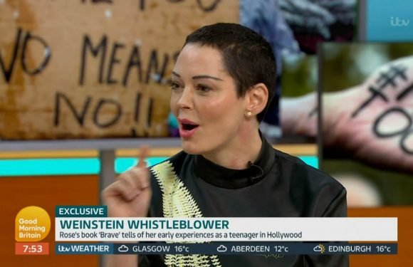 Rose McGowan claims Harvey Weinstein will NEVER be prosecuted for alleged rapes and sexual assaults