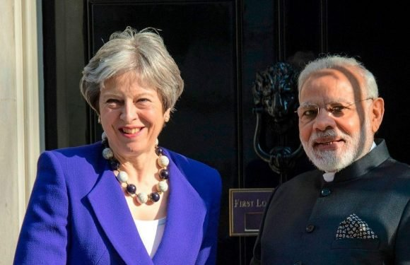 Indian PM Narendra Modi vows his country will be an even closer trading partner to Britain after Brexit