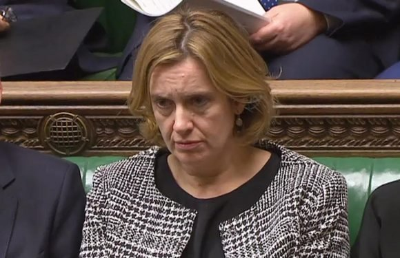 Cabinet split over post-Brexit immigration as Amber Rudd accused of stalling blueprint amid Windrush scandal