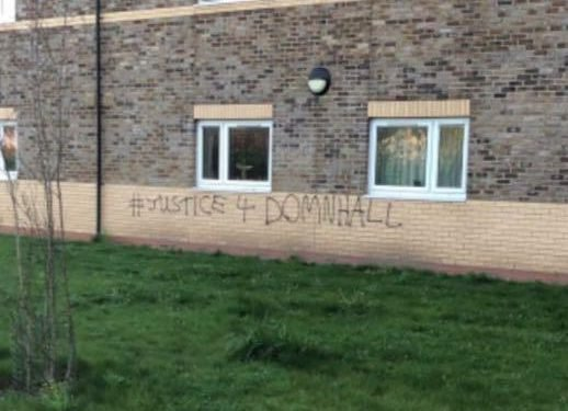 Irish soldiers punished for graffiti protesting treatment of regiment's dog