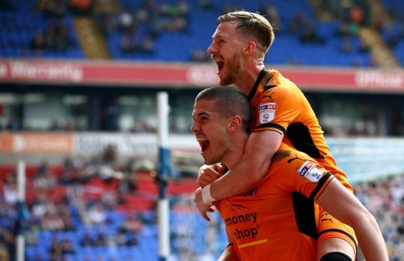 Wolves win Championship title with two games to spare after 4-0 win over Bolton
