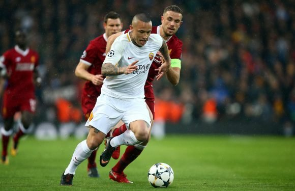 Arsenal join Manchester United and Chelsea in race for Roma midfielder Radja Nainggolan