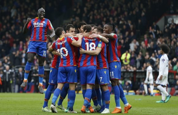 Crystal Palace 5 Leicester 0: Eagles cruising towards Premier League safety after Wilfried Zaha-inspired win over ten-man former champions