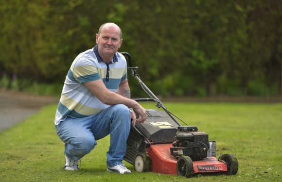 Grandad ordered to stop mowing grass next to his house for health and safety reasons despite having cut it for 12 years