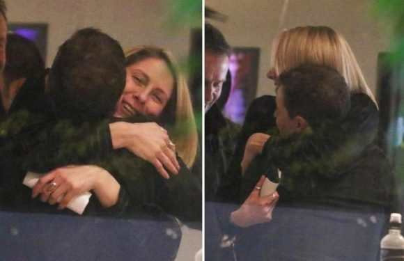 Declan Donnelly gets hug from pregnant wife Ali Astall as fans praise 'brave' telly star after hosting Saturday Night Takeaway without Ant McPartlin