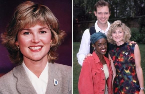 Anthea Turner confirms she's returning to Blue Peter – 24 years after she quit