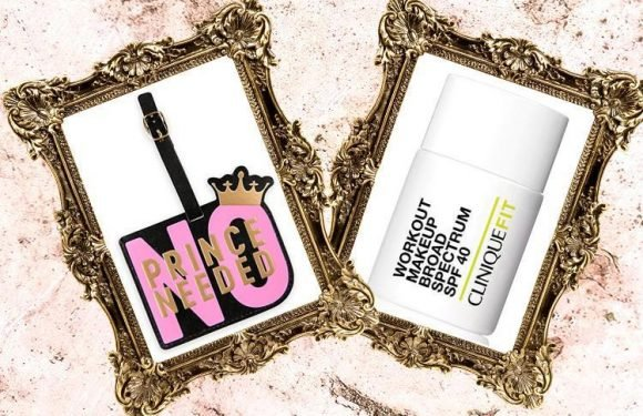 Magnetic face masks and gym-proof make-up… here's what we're lusting after today