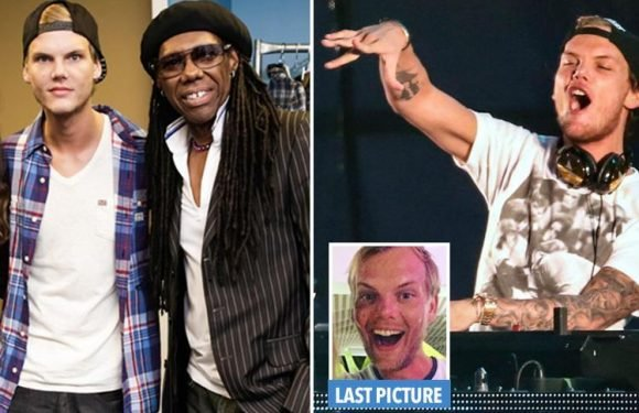 Avicii's heartbroken pal Nile Rodgers feared DJ was battling booze demons again as he was 'drunk' at their last gig together