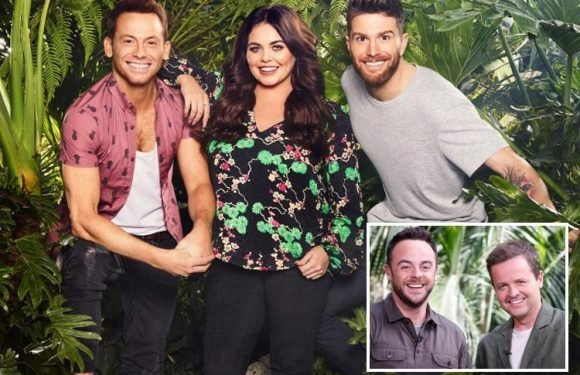 Joel Dommett, Scarlett Moffatt and Joe Swash will all return to host I'm A Celebrity…Get Me Out of Here Now 2018