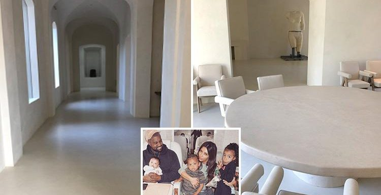 Kanye West Reveals First Ever Pics Of Inside His And Kim